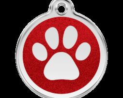Red Dingo glitteres kutyabiléta